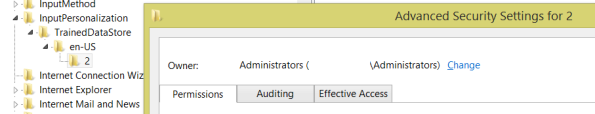 TrainedDataStore\en-US\2 Owner: Administrators