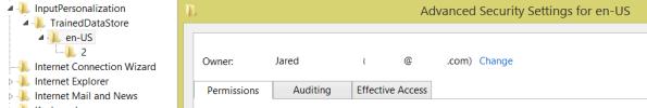 TrainedDataStore\en-US Owner: Jared